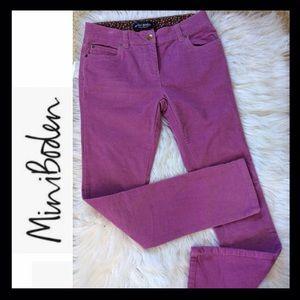 Mini Boden Skinny Corduroy Pants